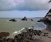 二見の夫婦岩